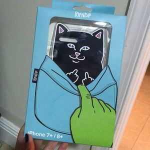 Rip N Dip Black Cat Phone Cases